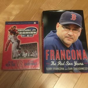 Red Sox DVD and book
